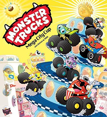 Monster Trucks: Mega City Cup by Jon Hinton (1-Jan-2015) Paperback