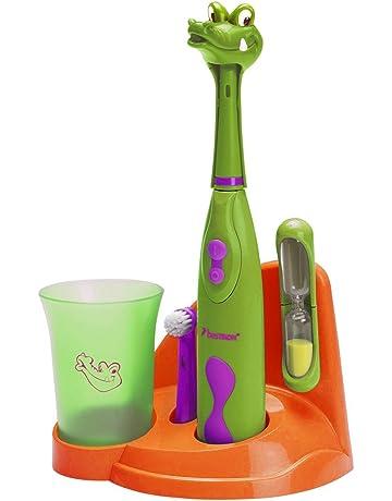Bestron DSA3500A Niño Cepillo dental giratorio Verde, Naranja, Púrpura