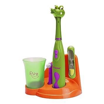 Bestron DSA3500A Niño Cepillo dental giratorio Verde, Naranja, Púrpura cepillo eléctrico para dientes - Cepillo de dientes eléctrico (Batería, AA, ...