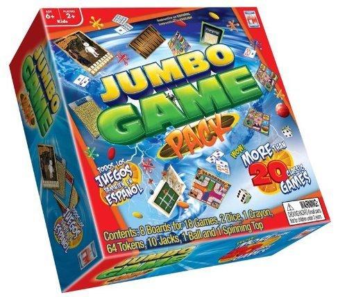 Jumbo Board Game Set by Fotorama (English Manual)