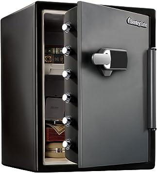 Master Lock Caja Fuerte de Seguridad [Ignifuga y Resistente al Agua] [ Combinación Digital] [Sistema de Alarma] [XX large] -LFW205TWC: Amazon.es: Bricolaje y herramientas