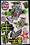 1 sheet motocross stickers Fac Energy...