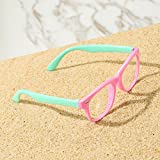 Pro Acme TPEE Rubber Flexible Kids Nerd Glasses