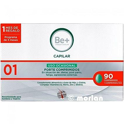 Be+ Capilar Anticaida Comprimidos Uso Ocasional Forte, 90Comprimidos