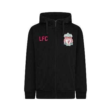 Liverpool FC - Sudadera oficial con capucha y cierre de cremallera - Para hombre - Forro polar: Amazon.es: Ropa y accesorios
