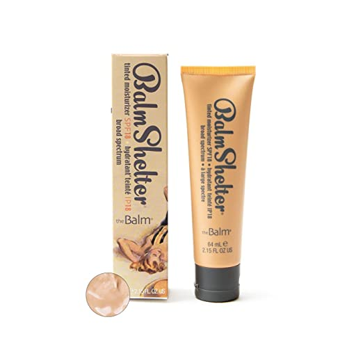 BalmShelter Silky-Smoth Tinted Moisturizer, Light, Polished Complexion, Weightless, SPF 18, 2.15 Fl Oz best tinted moisturizer
