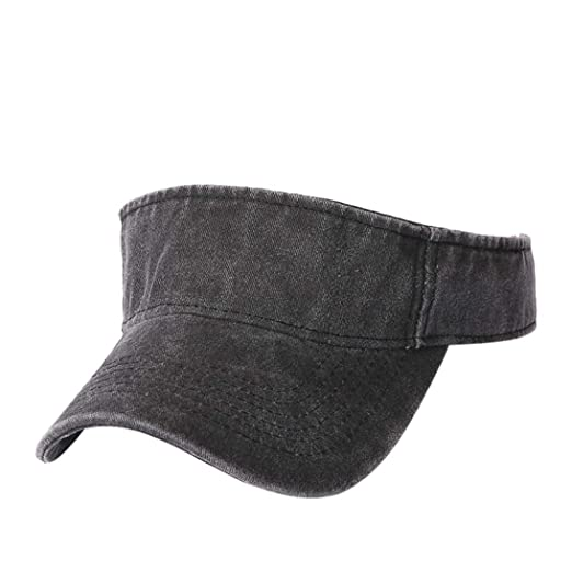 Goodtrade8 Men Women Sun Hats Wide Brim Baseball Cap Summer Fashion Sport  Packable Visor (Free 348765e97f3