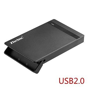 Zheino 2,5 pulgadas Unidad de disco duro HDD Case incluido Externo ...