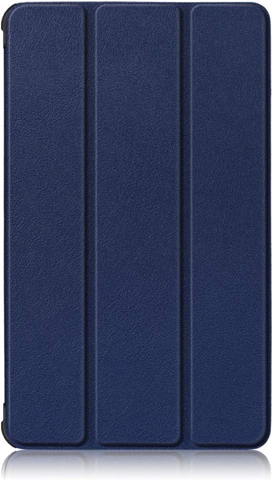 PU and PC Materials. Dark Blue,M7 TB-7305x for Lenovo Tab M7 TB-7305F//M7 TB-7305x//M7 TB-7305i 7.0 inch Tri fold Bracket Protective Sleeve No Sleep