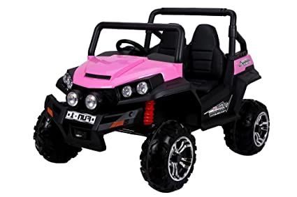 Amazon Com Exclusive Edition Big Kids Ride On Toy Car 2 Seats