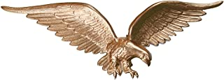 product image for Montague Metal Products Flagpole Wall Eagle, 24-Inch, Gold