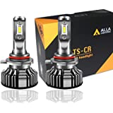 Alla Lighting 10000lm 9012 LED Headlight Bulbs Extremely Super Bright TS-CR HIR2 9012 LED Headlight Bulbs Conversion Kits 9012 Bulb