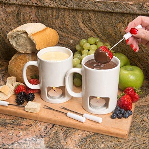 Set Set8 Of 2 Mugs Or Frenzystyle Fondue Votives Evelots White IncludedBlack Personal m8nvyNwO0