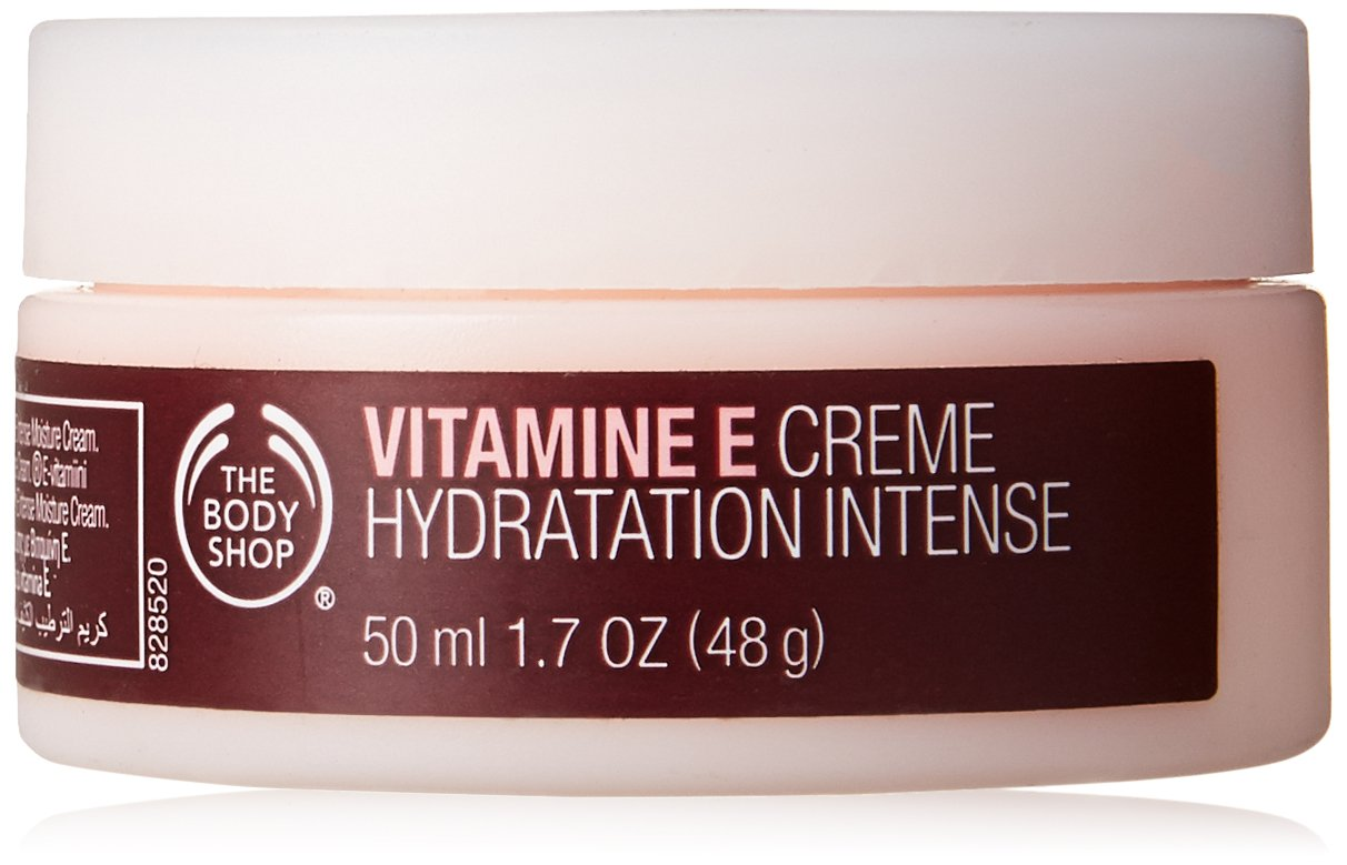 The Body Shop Vitamin-E Intense Moisture Cream for Unisex, 1.7 Ounce