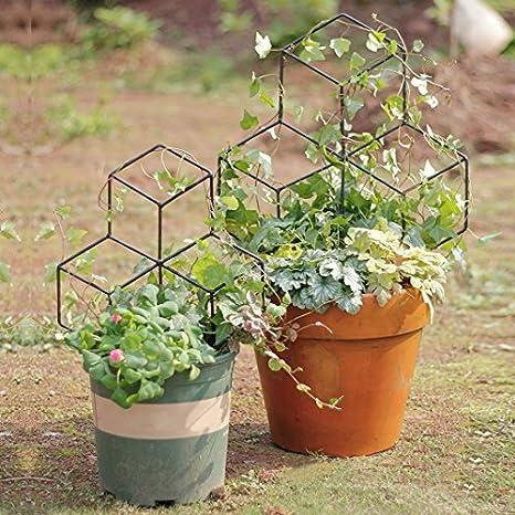 Mr Garden Lattice Shaped Trellis Mini Trellis Garden Trellis For Potted  Climbing Plants Support,