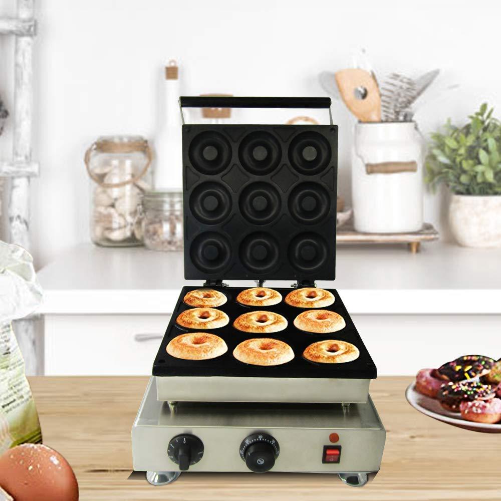 JIAWANSHUN 9 Holes Commercial Donut Maker Machine Doughnut Making Machine 110V by JIAWANSHUN