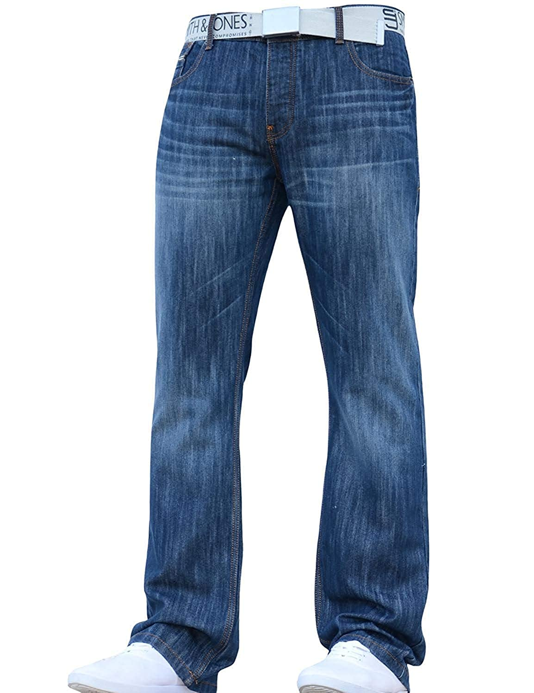 Smith and Jones Jeanbase - Pantalones vaqueros para hombre