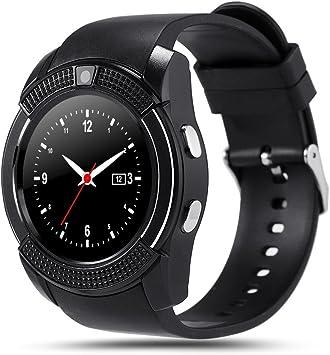 SoloKing T80 Smartwatch Reloj Inteligente Telefono con Cámara,TF ...