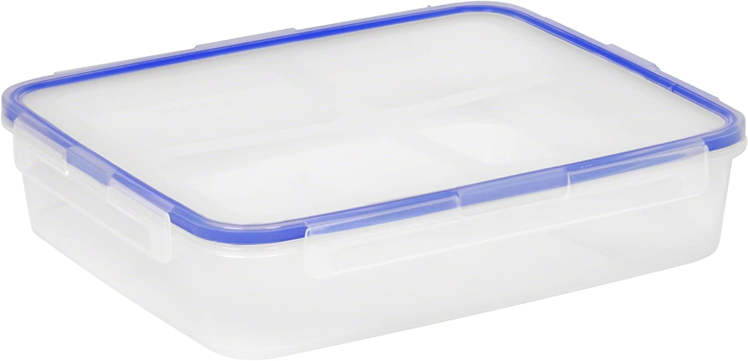 Snapware 8-Cup Airtight Rectangle Food Storage Container, Plastic