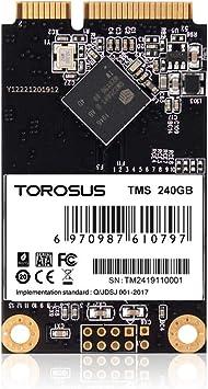 TOROSUS - Disco Duro para PC y portátil TMS 120GB,240 GB, 480 GB, 1 TB, Mini SATA3, SSD de inmersión(240GB): Amazon.es: Electrónica