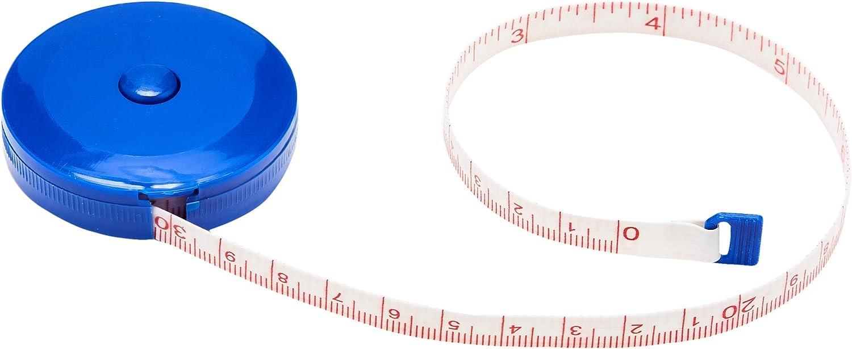 einziehbar 150/cm Blau Archer Ma/ßband