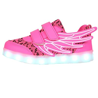 FG21ds21g Led Light Up Shoes 11 Colors Flashing USB Rechargeable Sneakers for Boys Girls Christmas Halloween Birthday