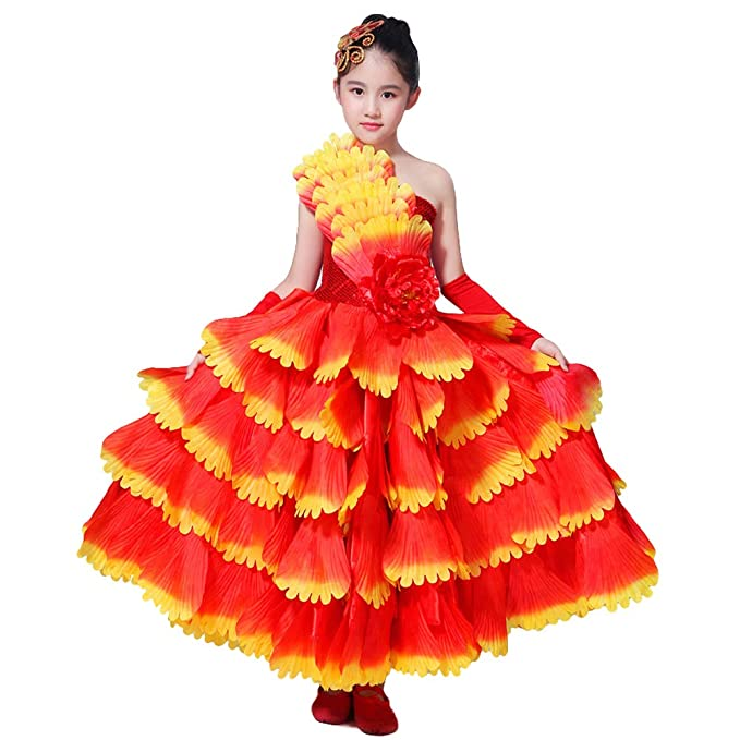 LOLANTA Disfraz de Flamenco para niña: Amazon.es: Deportes y aire ...