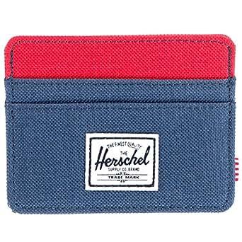Herschel Supply Co. Men's Charlie Wallet, Red/Navy, One Size