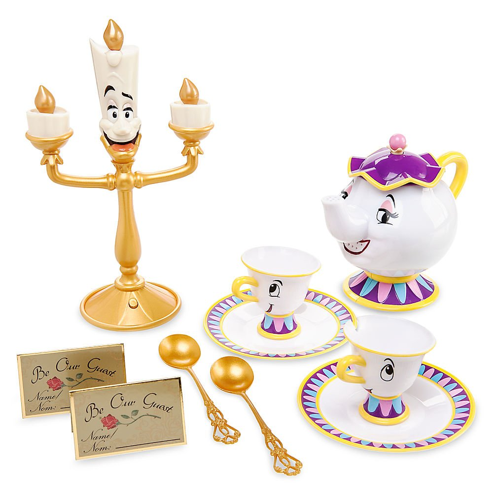 Amazon Disney Beauty And The Beast Singing Tea Set Toys Games