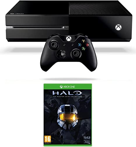 Xbox One Console with Halo: The Master Chief Collection ...