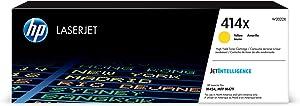 HP 414X | W2022X | Toner Cartridge | Yellow | High Yield