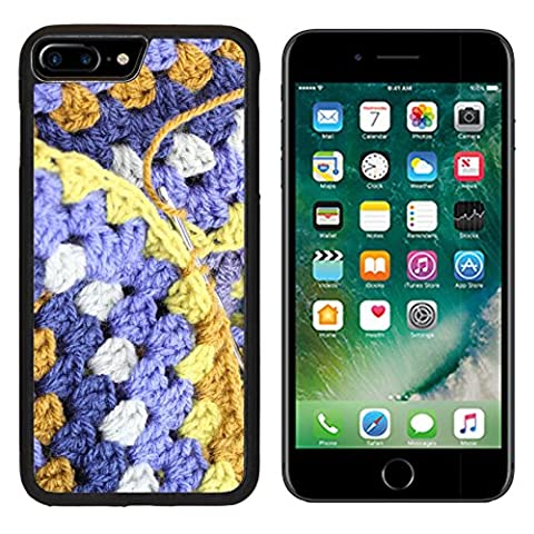 MSD Premium Apple iPhone 7 Plus Aluminum Backplate Bumper Snap Case iPhone7 Plus IMAGE ID: 32461766 Crocheting crochet hook making an afghan blanket in shades of blues and browns a vintage - Crochet Shell Afghan