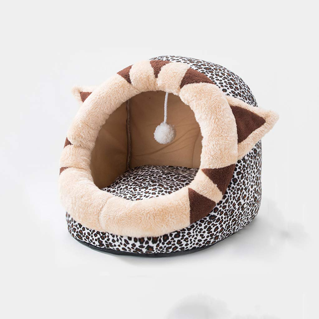 454234cm Pet nest cat litter cat sleeping bag four seasons universal cat house cat house small dog kennel pet supplies winter warm45  42  34cm