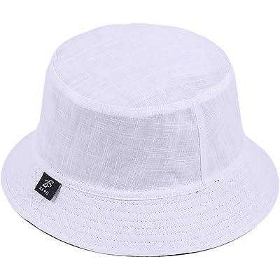 Jazmiu - Sombrero unisex divertido con dibujos de frutas, sombrero de pescador para actividades al aire libre, reversible