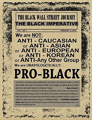 Black Wall Street Empowerment Poster product image