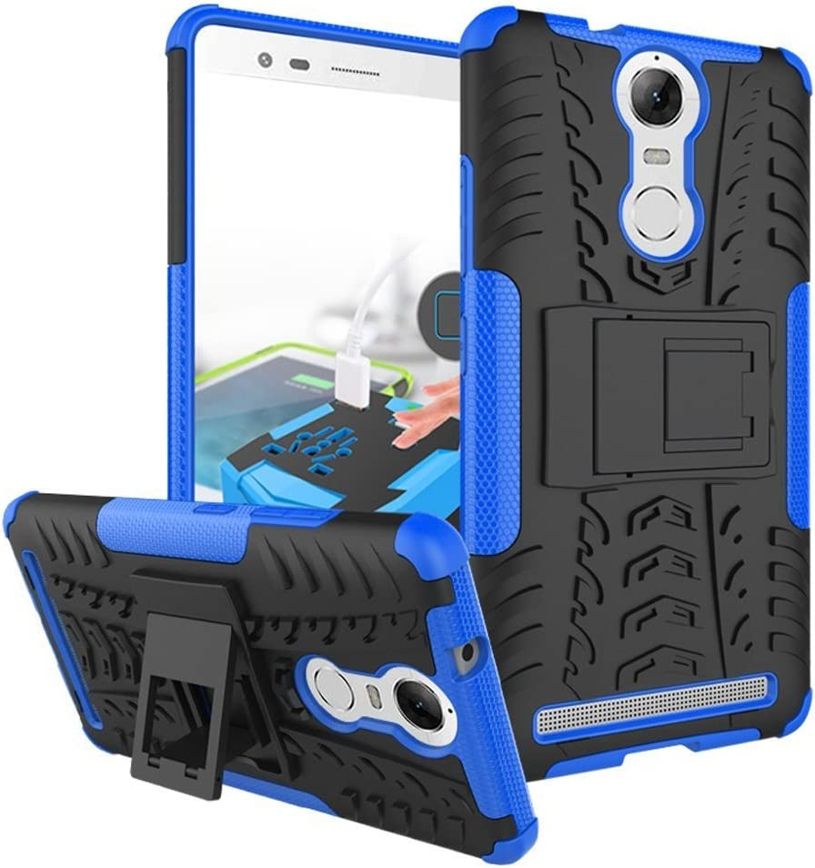 SCIMIN Lenovo Vibe K5 Note Pro Case, Lenovo Vibe K5 Note Pro Hybrid Case, Dual Layer Shockproof Hybrid Rugged Case Hard Shell Cover with Kickstand for 5.5'' Lenovo Vibe K5 Note Pro