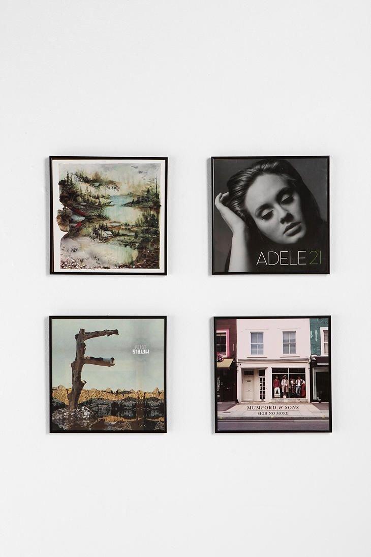 Amazon.com - Ikea LOMVIKEN LP Album Record Cover Wall Frame Music ...