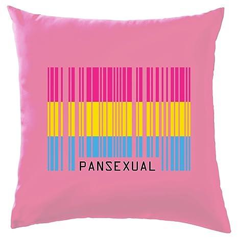 LGBT Código de Barras Bandera - Pan sexual - Cojín (41 x 41 ...