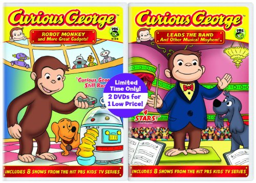 Curious George: Robot Monkey / Curious George: Leads the Band Value Pack