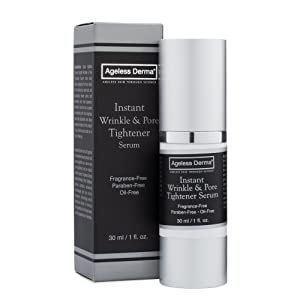 Ageless Derma Pore Minimizer Serum and Anti Wrinkle Cream by Dr. Mostamand is a Face Moisturizer for a Youthful Skin
