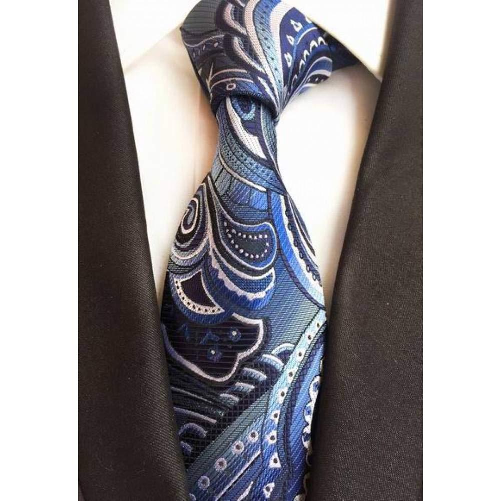 IG Corbata de moda Corbatas Paisley Corbatas de seda tejida de ...