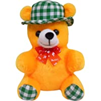 Saugat Traders Love Soft Toys Cap Teddy Bear 18 cm. for Girls and Kids