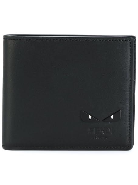 vendite calde presa di fabbrica scaricare la consegna Fendi Portafoglio Uomo 7M01696OCF0GXN Pelle Nero: Amazon.it ...