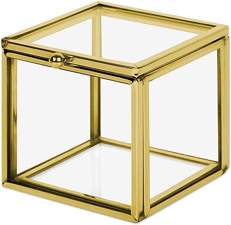 DRIED FLOWERS BOX,flower box,glass box,jewelry glass box,trinket jewelry box,glass box wedding,glass box geometric,heirloom box,french decor