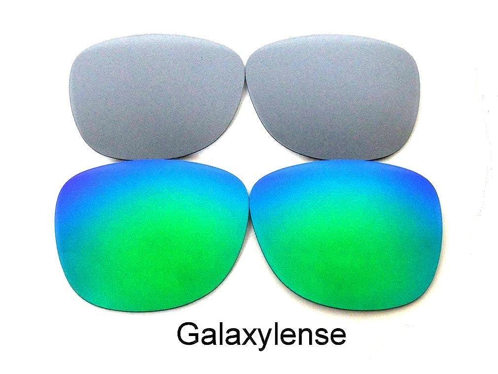 53ea455c94 Amazon.com  Galaxy Replacement Lenses For Ray-Ban RB2140 Original Wayfarer  Green Titanium 54 mm Polarized  Clothing