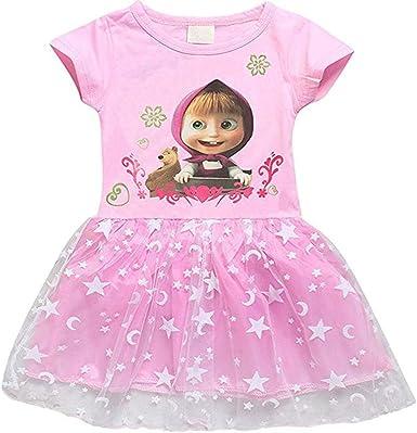 Amazon.com: Vestido de fiesta de cumpleaños de princesa de ...