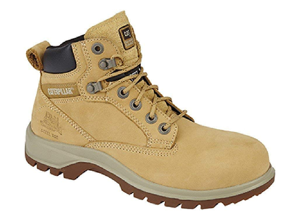 P304090 Leather Safety Boots Honey
