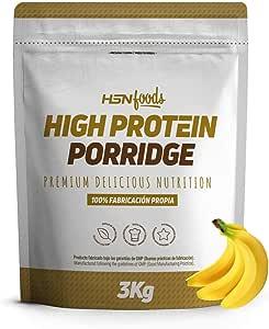 Gachas de Avena Proteicas de HSN Foods | Porridge Proteico Apto ...