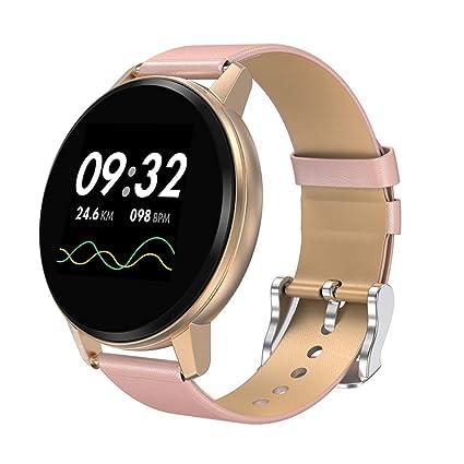 Qomomont SmartWatch Multifunción Reloj Inteligente Redondo ...
