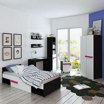lingjiushopping sieben stuck kids schlafzimmer mobel set pink bett material spanplatte